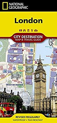 מפת לונדון נשיונל ג'יאוגרפיק
