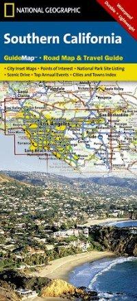 מפה NG קליפורניה דרום