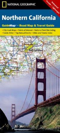 מפה NG קליפורניה צפון