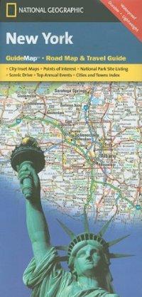 מפת ניו יורק, מדינת נשיונל ג'יאוגרפיק
