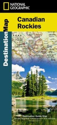 מפה NG הרי הרוקי הקנדיים