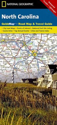 מפה NG צפון קרולינה