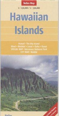 מפה NL הוואי, האיים