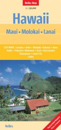 מפה NL הוואי (מאווי, מולוקאי, לאנאי)