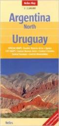 מפה NL ארגנטינה צפון, אורוגוואי