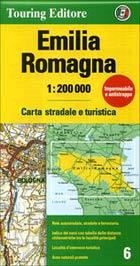 מפה TCI איטליה 200 (6) אמיליה-רומאניה