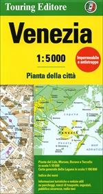 מפה TCI ונציה