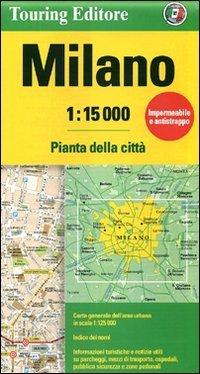 מפה TCI איטליה-ערים מילאנו