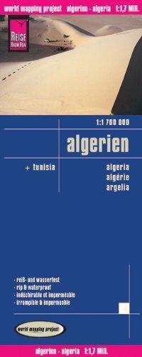 מפת אלג'יריה וורלד מפינג פרוג'קט