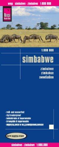מפה WM זימבבואה