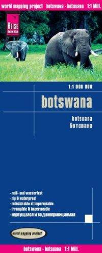 מפה WM בוצואנה