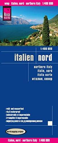 מפת איטליה צפון 400 וורלד מפינג פרוג'קט