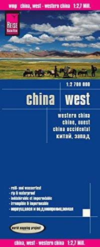 מפה WM סין מערב