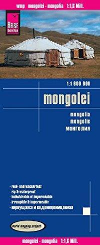 מפת מונגוליה וורלד מפינג פרוג'קט