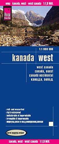 מפה WM קנדה מערב