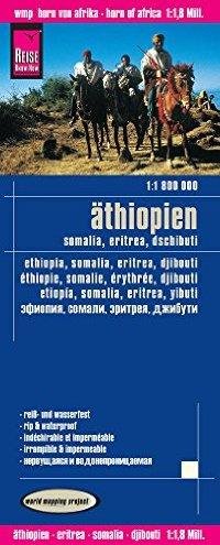 מפה WM אתיופיה סומליה אריתריאה ג'יבוטי