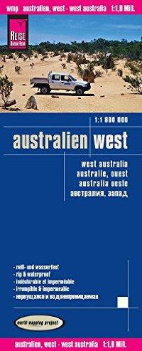 מפה WM אוסטרליה - החוף המערבי
