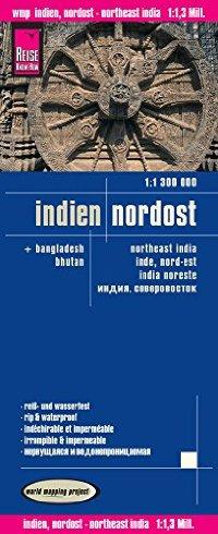 מפה WM הודו צפון מזרח
