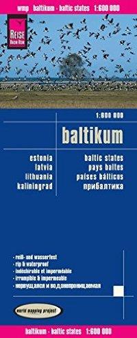 מפה WM בלטיות (אסטוניה לטביה ליטא)