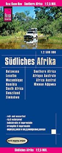 מפה WM אפריקה דרום: בוצואנה,לסותו,מוזמביק,נמיביה,דרום אפריקה,סווזילנד,זימבבואה