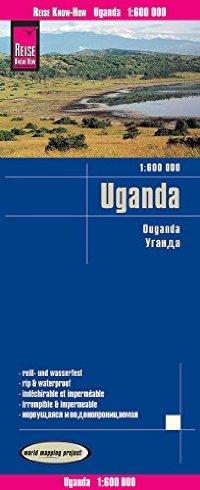 מפת אוגנדה וורלד מפינג פרוג'קט