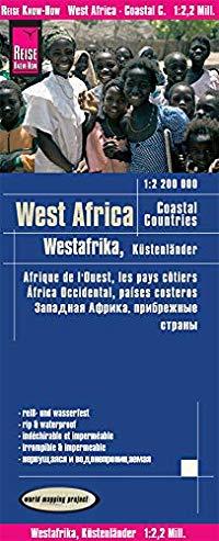 מפה WM אפריקה מערב