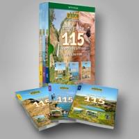 מדריך בעברית glr 115 המסלולים היפים בישראל, סדרה בת שלושה כרכים