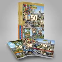 מדריך בעברית glr לכל אחד ירושלים, 50 מסלולי סיור בירושלים, סדרה בת 3 כרכים