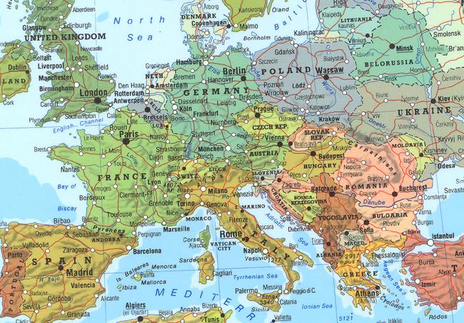 דוגמה מהמפה